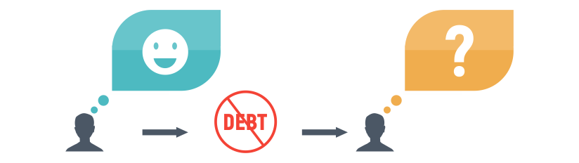 life after debt graphic