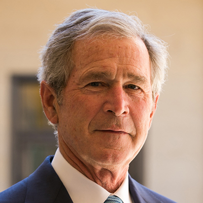 George w bush headshot