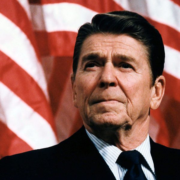 Ronald Reagan headshot