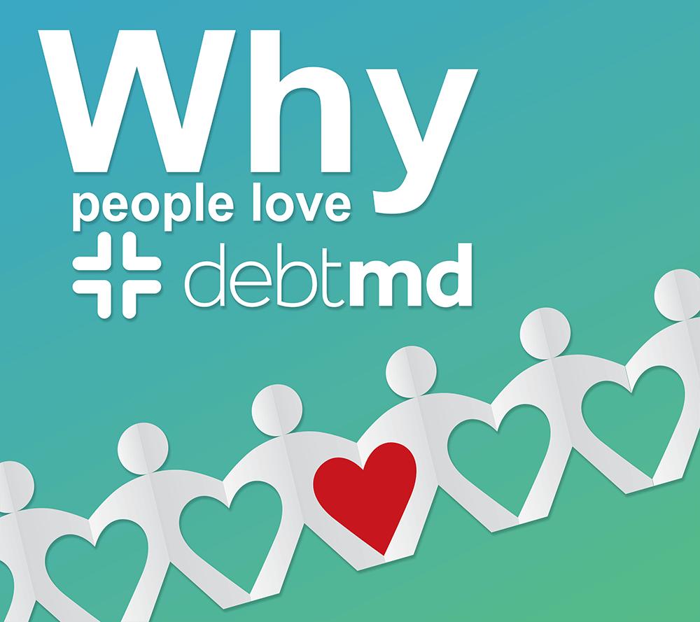 Why people love DebtMD